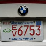 Electric Vehicle License Plate