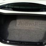 BMW ActiveE Trunk