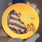 Olympic gold medal Sochi