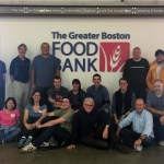 Powerhouse Dynamics volunteers at the Greater Boston Food Bank